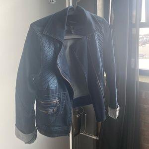 Jean Moto Jacket